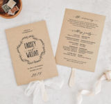Wording Template for Creating your Wedding Order Of Service