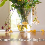 Dealing with no show guests at your wedding