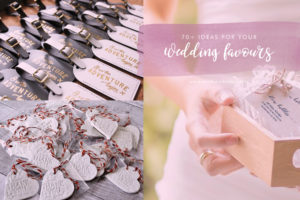 70+ wedding favour ideas