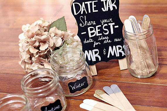 Diy Date Jar Southern Bride