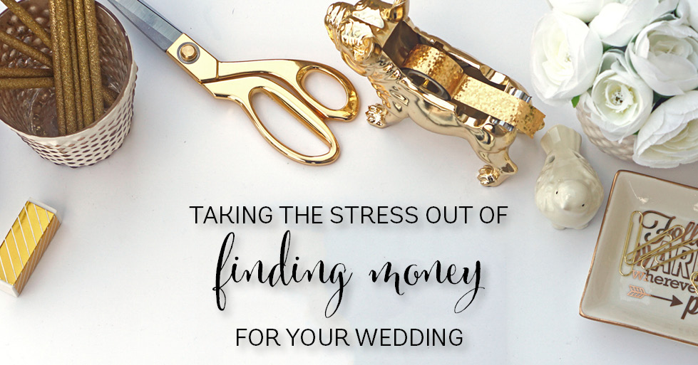 finding money for your wedding