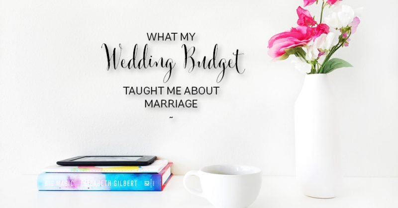wedding budget good for marriage