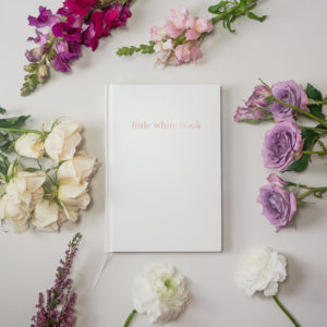 little white book wedding organiser diary