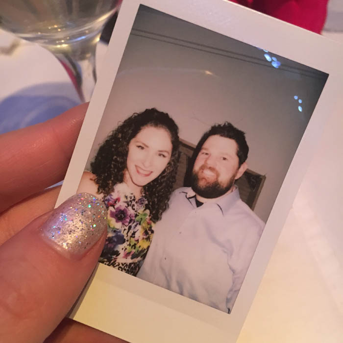 wedding polaroid guest book
