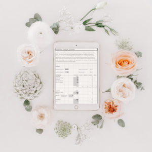 Excel Template for Wedding Budget in NZ