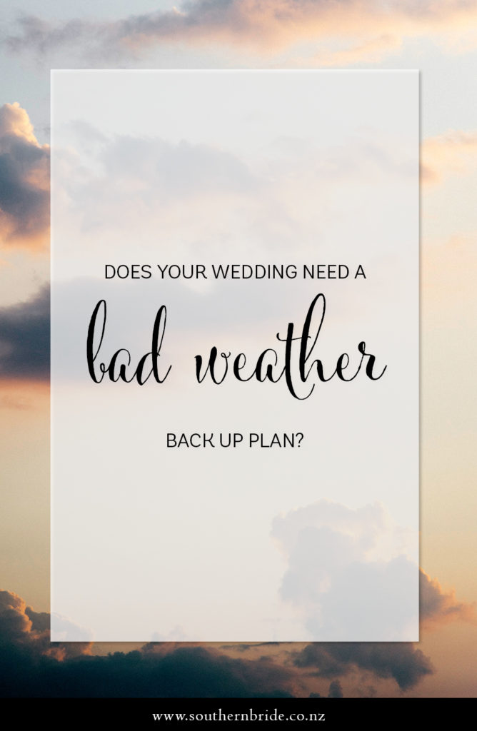 Do You Need a Weather Wedding Backup Plan? - Southern Bride