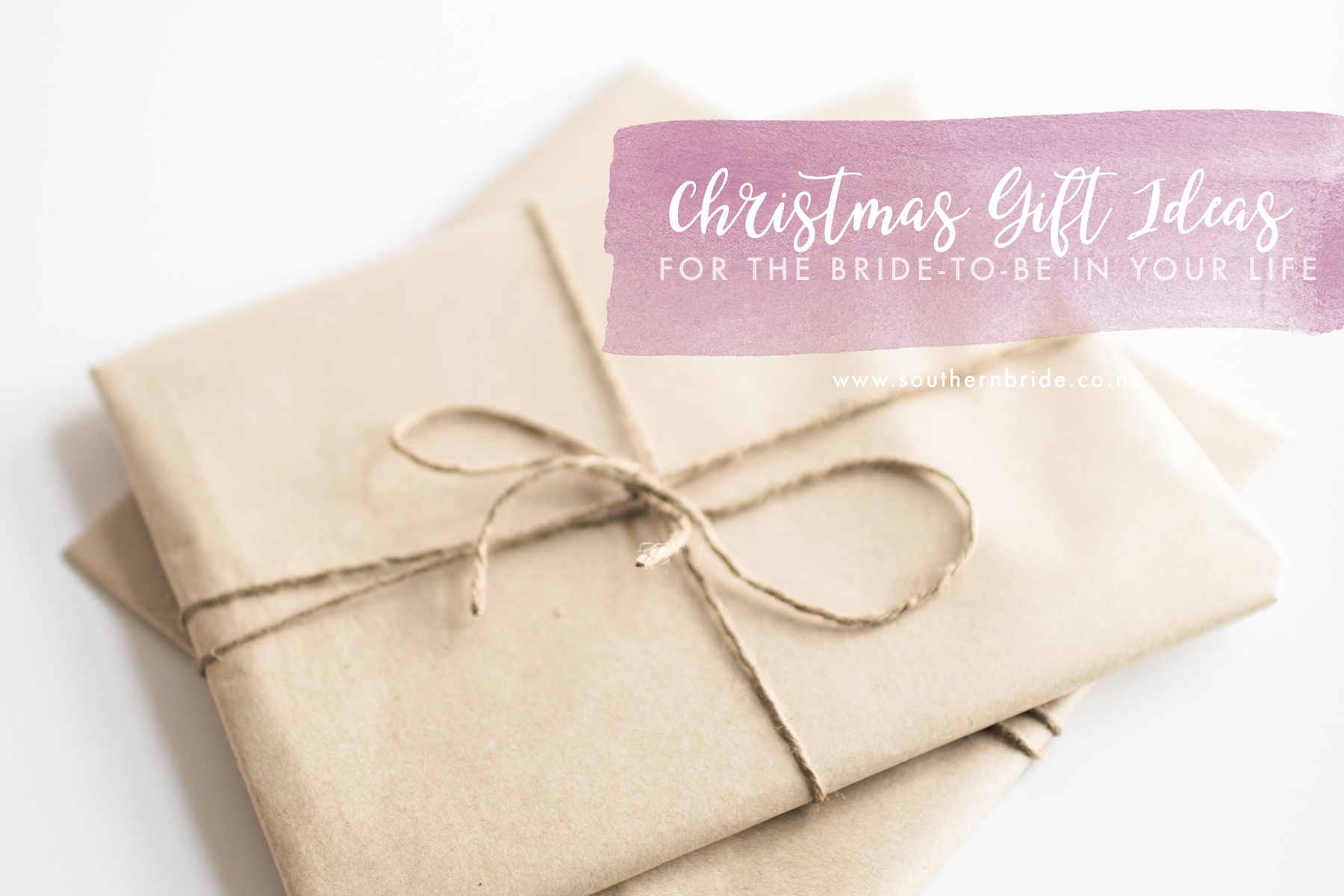 Christmas Gift Ideas for the bride-to-be in your life - Southern Bride