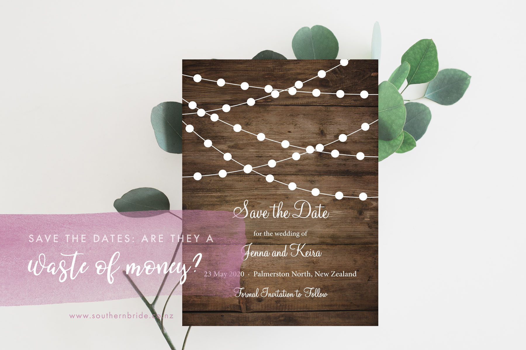 Save The Dates A Waste Of Money Or A Must Have Southern Bride
