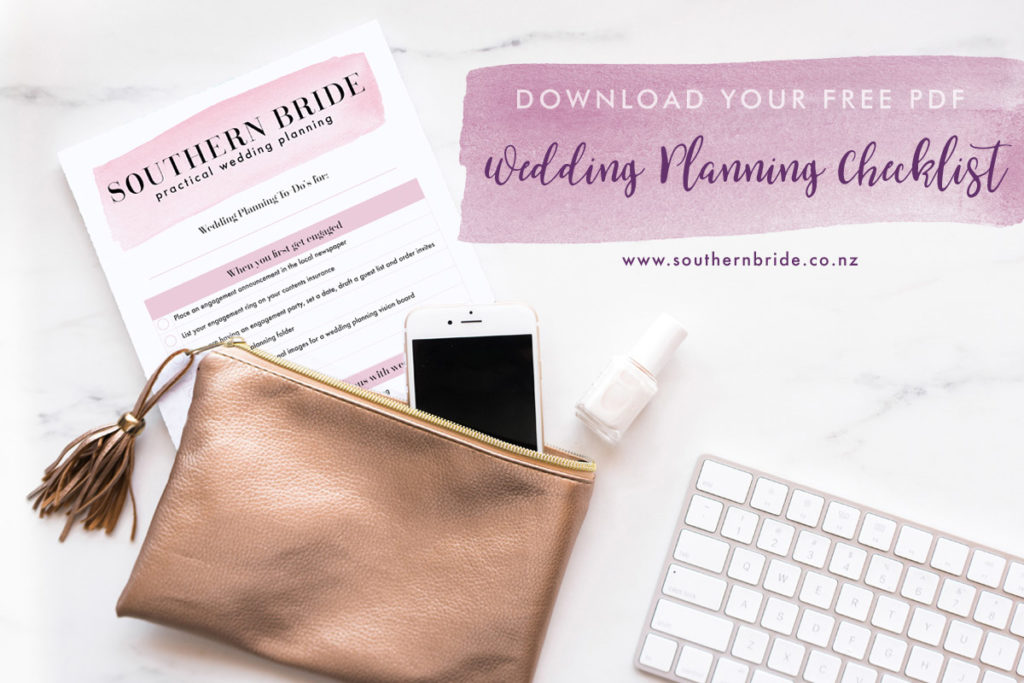 wedding to do checklist download