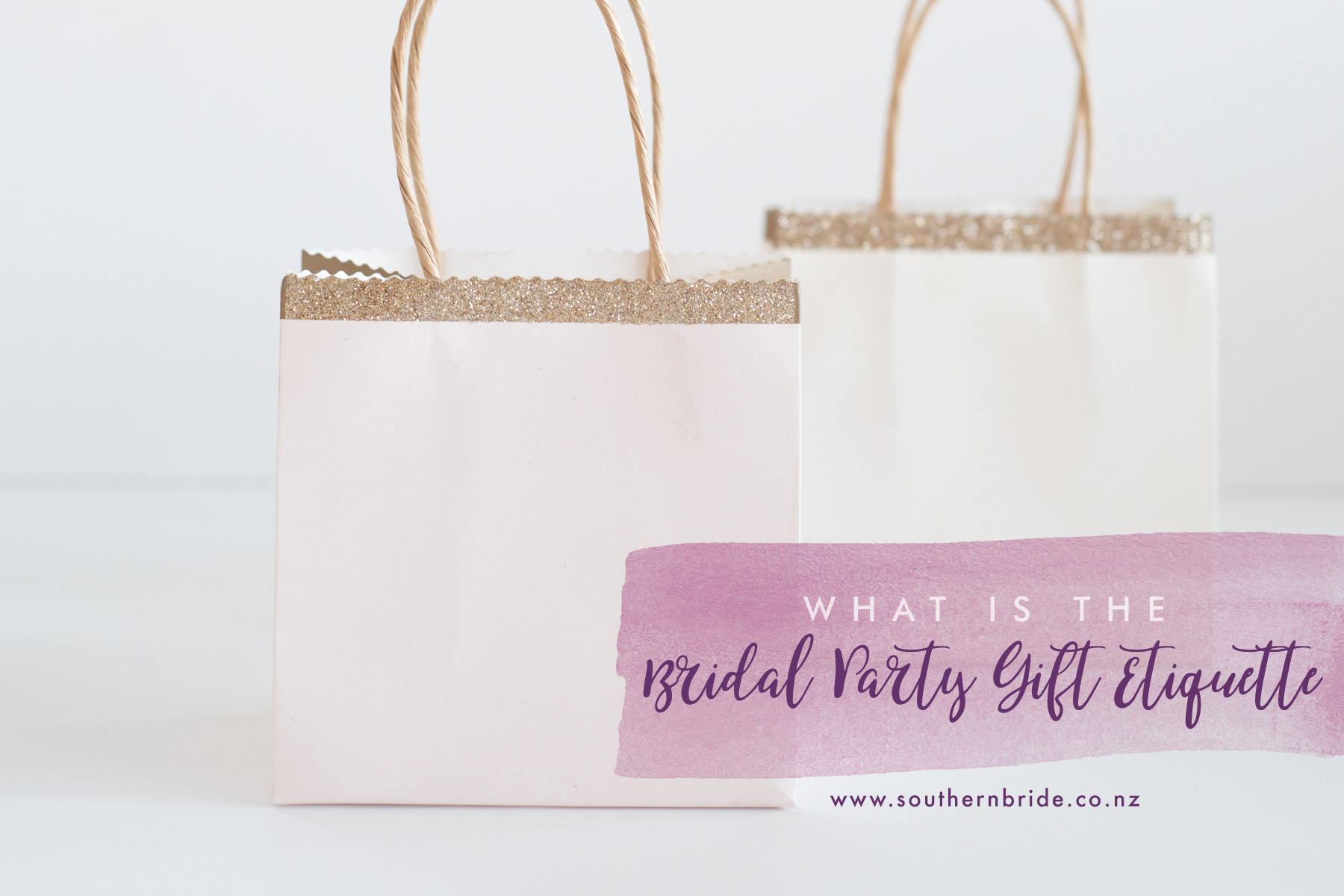 Wedding Party Gift Etiquette: Is There A Bridal Party Gift Etiquette?